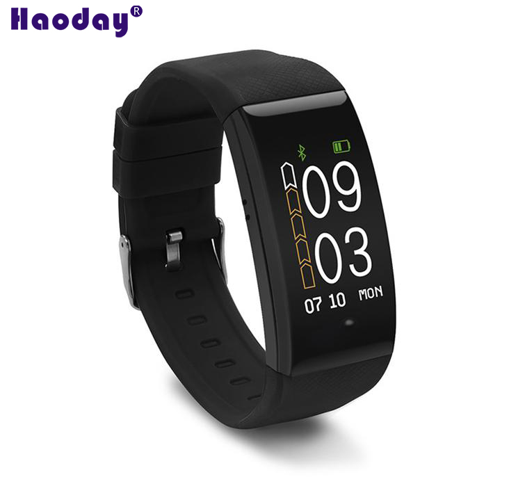 Colorful multi-functional sport smart bracelet DW06 GPS tracker Waterproof IP67 Heart rate monitoring Long-time sitting reminder