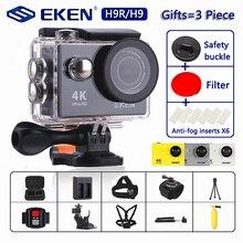 """ต้นฉบับEKEN H9/H9Rกล้องUltra HD 4K / 30fps WiFi 2.0 """"170Dใต้น้ำกันน้ำหมวกกันน็อกVedio Go Sport Proมา"""