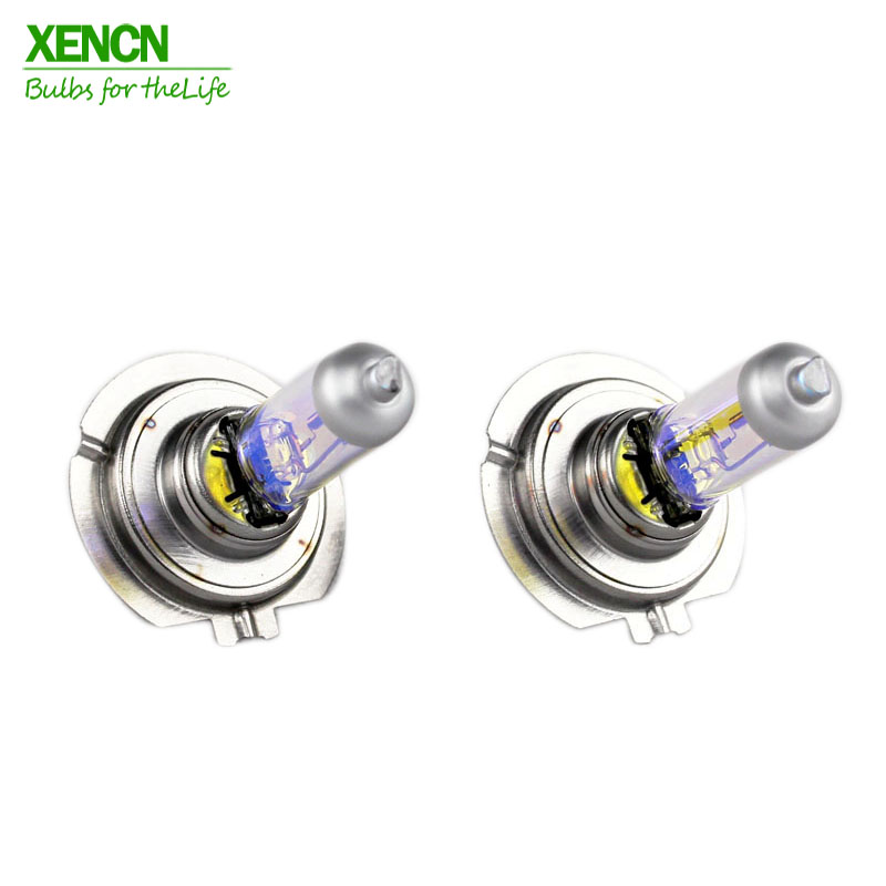 XENCN H7 12V 55W 2300K Car styling Golden Eyes Super bright Yellow parking Car Halogen Head Light Quality Auto Lamp