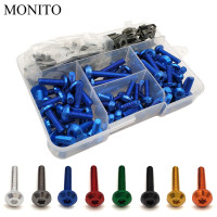 Motorcycle Fairing Bolts Nuts Kit Body Fastener Clips Screws For YAMAHA XMAX 125/250/300/400 Iron Max NMAX 125 R120 Accessories
