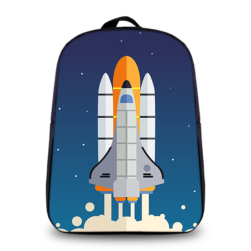 BAOBEIKU New 3D Backpacks Creative Rocket Printing Pattern For Children  School Bag Kids Shoulder Travel Bags Students drop ship-in Backpacks from  Luggage ...