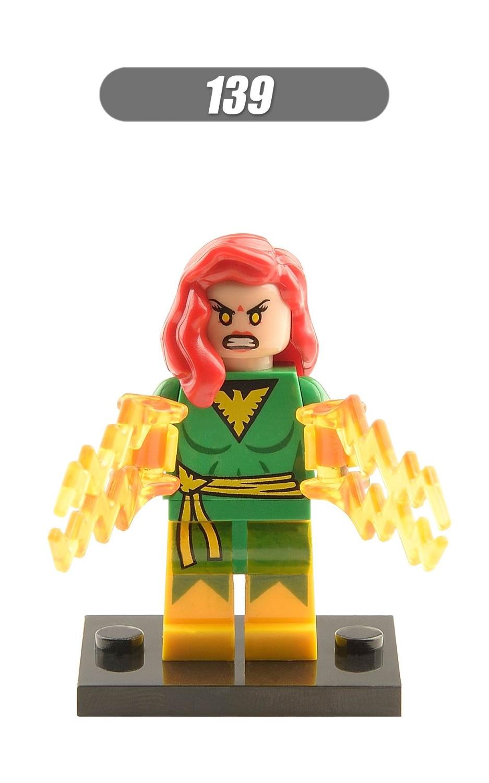 Single Sale Super Heroes Super Girl Joker Clown Batman Doctor Doom Cyclops Bricks Action Building Blocks Children Toys XH 139