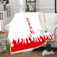 Roi Mantas Naruto jeter des couvertures Couverture pondérée blanc moelleux coton Couverture Couverture Polaire voyage canapé Couverture Cobertor