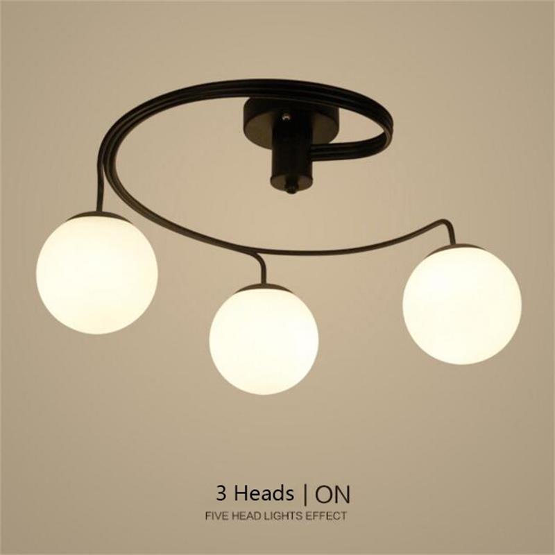 Retro LED Pendant Light Glass Lampshade Loft Pendant Lamps lights E27 220V for Dinning Room Living room Home Bar Hotel Lighting цена и фото