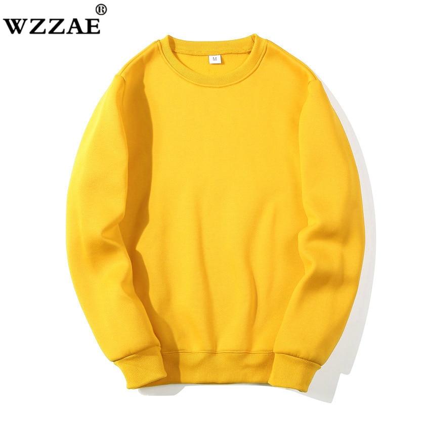 Solid Sweatshirts 2019 New Spring Autumn Fashion Hoodies Male Large Size Warm Fleece Coat Men Brand Hip Hop Hoodies Sweatshirts худи xxxtentacion