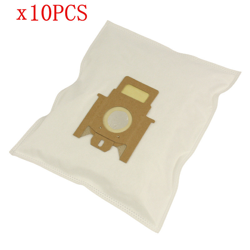 10pcs dust filter bags for Miele Hoover H30-H52 vacuum cleaner parts dust bags replacement 10pcs replacement hepa dust filter for neato botvac 70e 75 80 85 d5 series robotic vacuum cleaners robot parts
