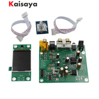 ES9038 Q2M I2S DSD Optical Coaxial IIS/DSD DOP 384KHz Input DAC Headphone Output Audio amplifier Board with tft lcd G4 009