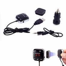 Cls Auto Kit Drahtlose Bluetooth FM Transmitter Mp3-player USB SD LCD Fernbedienung Freisprecheinrichtung Jun10