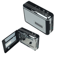 Neueste Besten Preis!! Tragbare Band zu Mp3 Micro SD TF Karte Cassette to MP3 Converter Player + Kopfhörer freies Verschiffen XT15