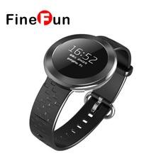 Finefun ET01 Smart Band телефон монитор сердечного ритма Bluetooth Смарт часы с удаленного Камера Сенсорный экран для Android/IOS