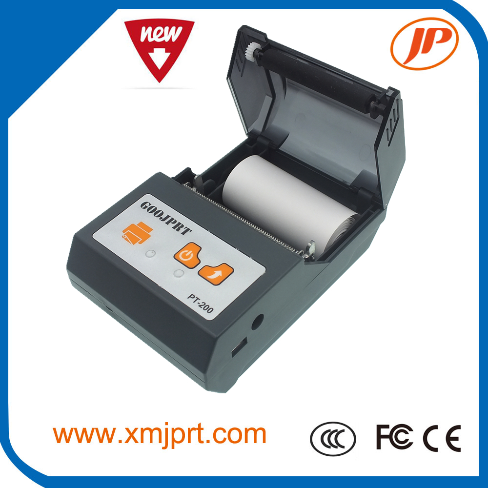 Portable 58mm Thermal Bluetooth Printer Bluetooth Receipt Printer bluetooth USB serial port for Windows Android POS