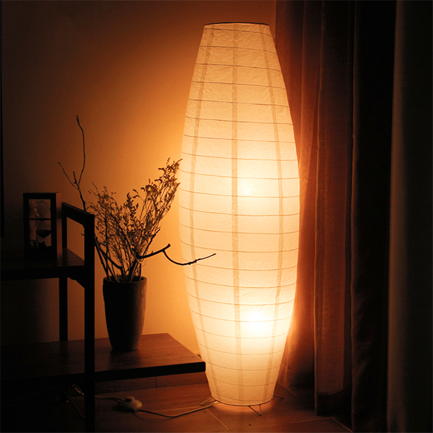 Nordic Woven Paper Floor Light LED Floor Lamp Standing Lamps For Living Room Indoor Lighting Led Floor Lamp Luminaria Lampara De