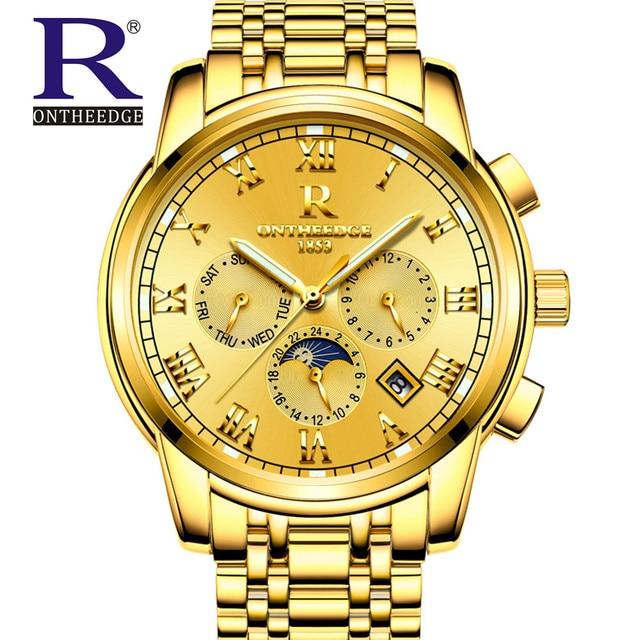 2017 New Men Watch Wrist Original Movement Luxury Top Brand Big Automatic Fashion Male Mechanical Watches Relogio Masculino