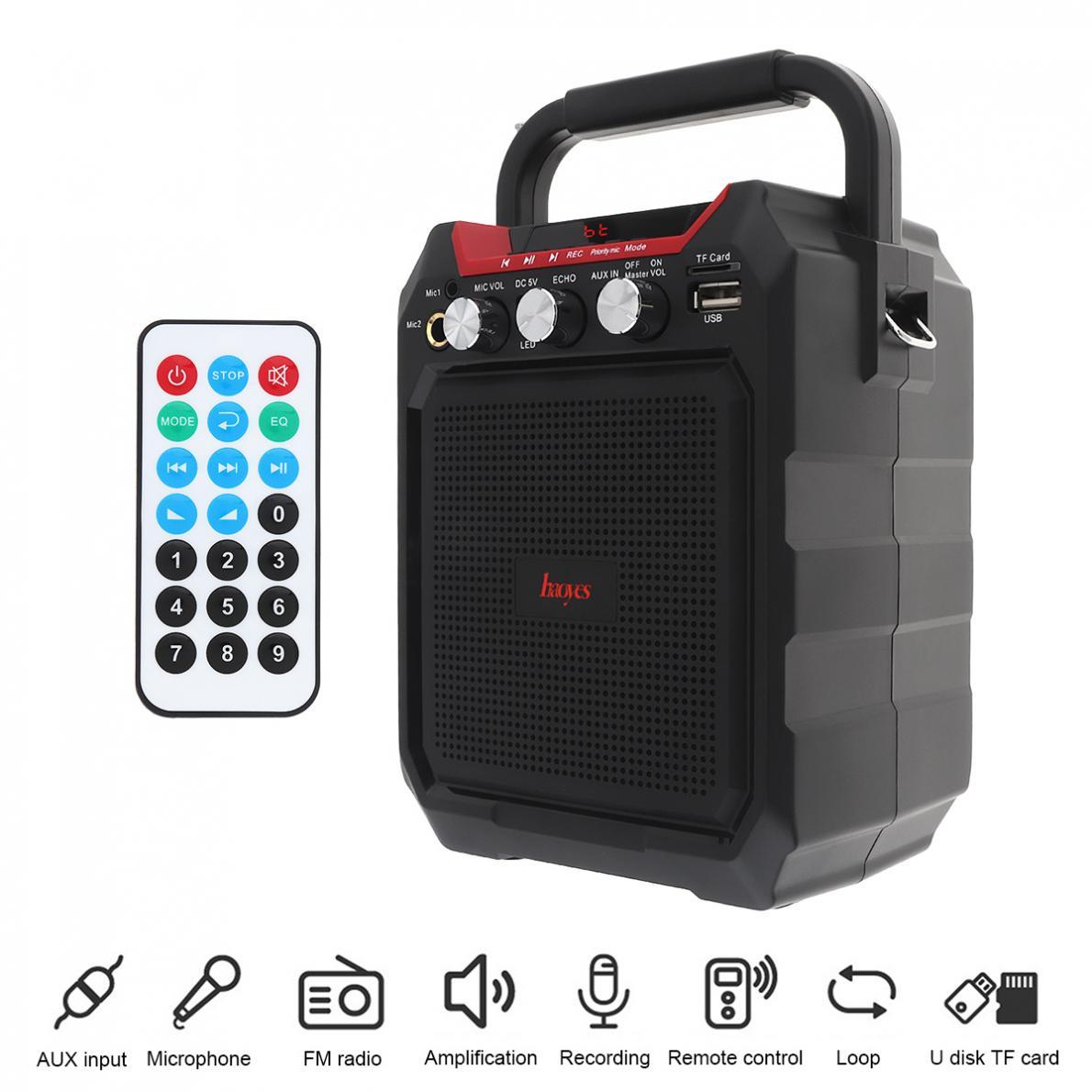 3d Surround Subwoofer Speaker Ondersteuning Een Klik Opname/dual Microfoon Voor Vergaderingen/optredens/party