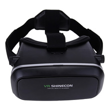 VR Shineconรุ่นProความจริงเสมือนแว่นตา3DชุดหูฟังหัวเมาGoogleกระดาษแข็งภาพยนตร์เกมสำหรับ4-6นิ้วโทรศัพท์+ระยะไกล