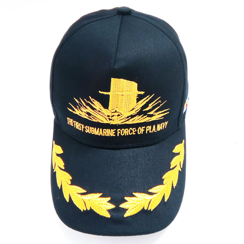 d6f7dd7d742 Chinese military enthusiasts lovers souvenir hats The Chinese navy frigate  souvenir hats Patriotic army fan outdoor leisure cap-in Military Hats from  ...