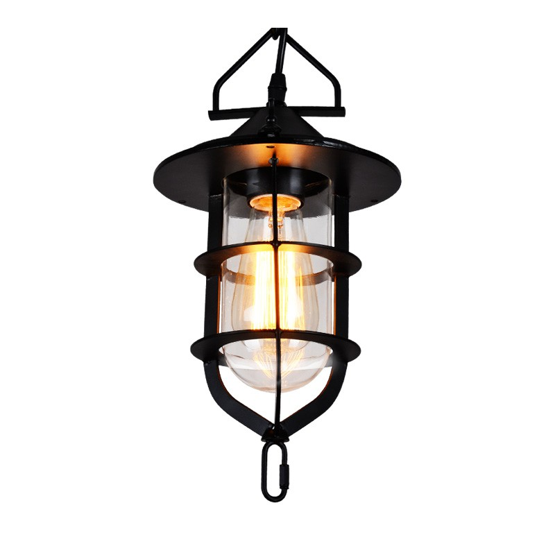 American Country Metal Dock Dining Room Pendant Lamp Restaurant Bar Counter Pendant Lights boatyard industrial Pendant Lights