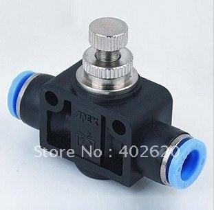PA12 12 мм контроль скорости; пневматические фитинги, Пластиковые Фитинги, вставные фитинги