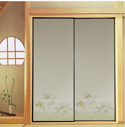 Japanese Fusuma Paper 2 Sheets/Pair Washitsu Woodblock Decor Decorative Door Wall Paper Soji Sliding Door Bedroom Living Room-in Furniture Accessories from ... & Japanese Fusuma Paper 2 Sheets/Pair Washitsu Woodblock Decor ...