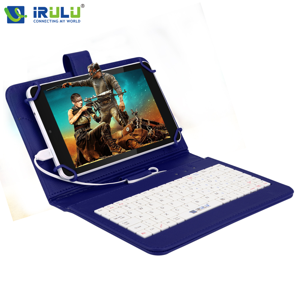 ФОТО iRULU eXpro X4 7'' GMS Android 5.1 IPS 1280*800 Tablet Quad Core Dual Cam 1GB/16GB Tablet PC Bluetooth Wifi w/EN Keyboard Case