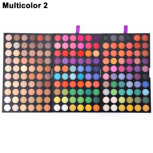 Полный 252/180 Цветов Теней Макияж Косметические Shimmer Матовая Палитра Теней SMT208