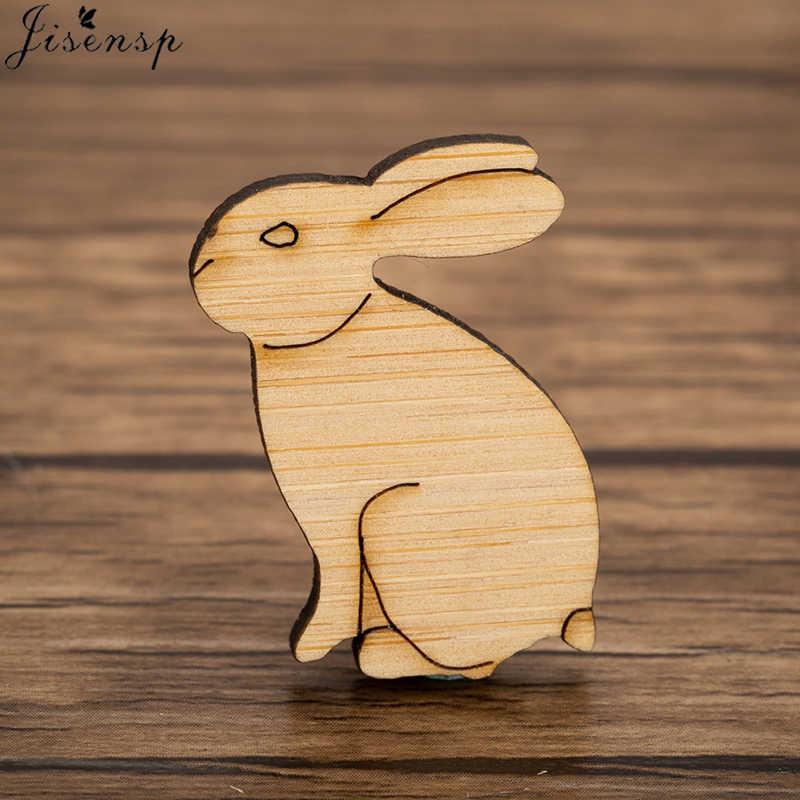 Jisensp ง่ายการ์ตูนกระต่ายเข็มกลัด Pins กระต่ายเคลือบโลหะหัวเข็มขัดสำหรับเสื้อกระเป๋าเสื้อแจ็คเก็ต Collar Lapel Pin Badge ของขวัญ