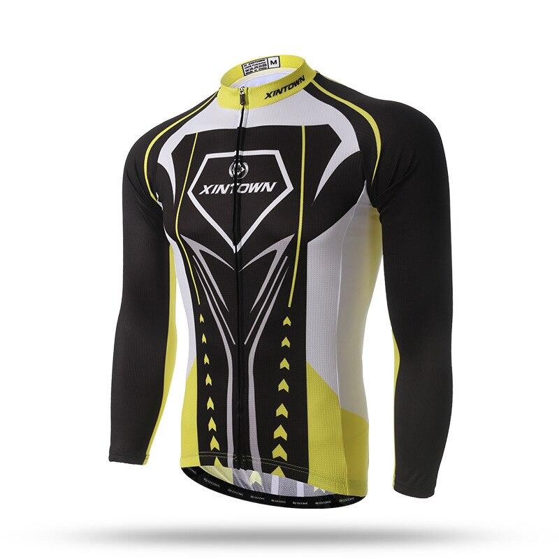 Manlong outdoor Store Ski Long Shirts Time-limited Full Men Cycling Base Layer Riding Coat Jacket 2017 New Spring Sleeved Shirt Men's Bicycle Escort