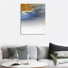 European Modern Style Abstract Sample Canvas Oil Painting Frameless Poster Living Room Bedroom Wall Art Home Decorative