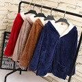 Bat Sleeve Hooded Cardigan Jacket Women Repair Idle Jacket Plus Size Coat Outerwear Long sleeve Jackets KK-45B