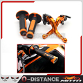With KTM CNC logo Accessories Motorcycle Short Clutch Brake Levers for KTM ADVENTURE 1050 690 Duke / SMC / SMCR 690 Enduro R