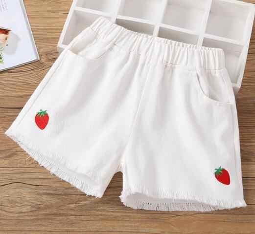 Nowa rozrywka sport dziewczyny gorący niebieski biały czarny różowy stałe dziewczyna zgrywanie Denim szorty dziewczyny na co dzień kieszenie kobiet krótki dżinsy