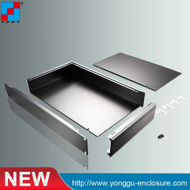 US $60 2 |482*66 7*250 mm 19 Inch Rack Mount Chassis, aluminum cabinet  small extruded aluminum electronic enclosures-in Connectors from Lights &