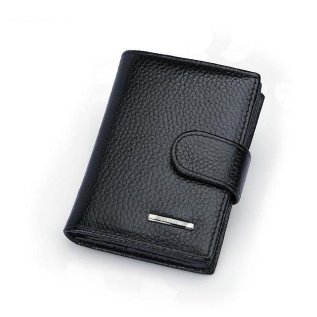 Hot sale genuine leather men card holder wallet for credit cards hot sale genuine leather men card holder wallet for credit cards black mini business card holder colourmoves