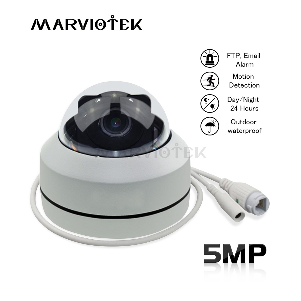 Mini Camera HD 5MP Waterproof Home Security PTZ IP Dome Camera Outdoor 4X Optical Zoom IR