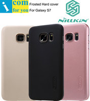 Nillkin Super Frosted Shield Hard Back Cover Case For Samsung Galaxy S6 Edge With 1pcs Screen