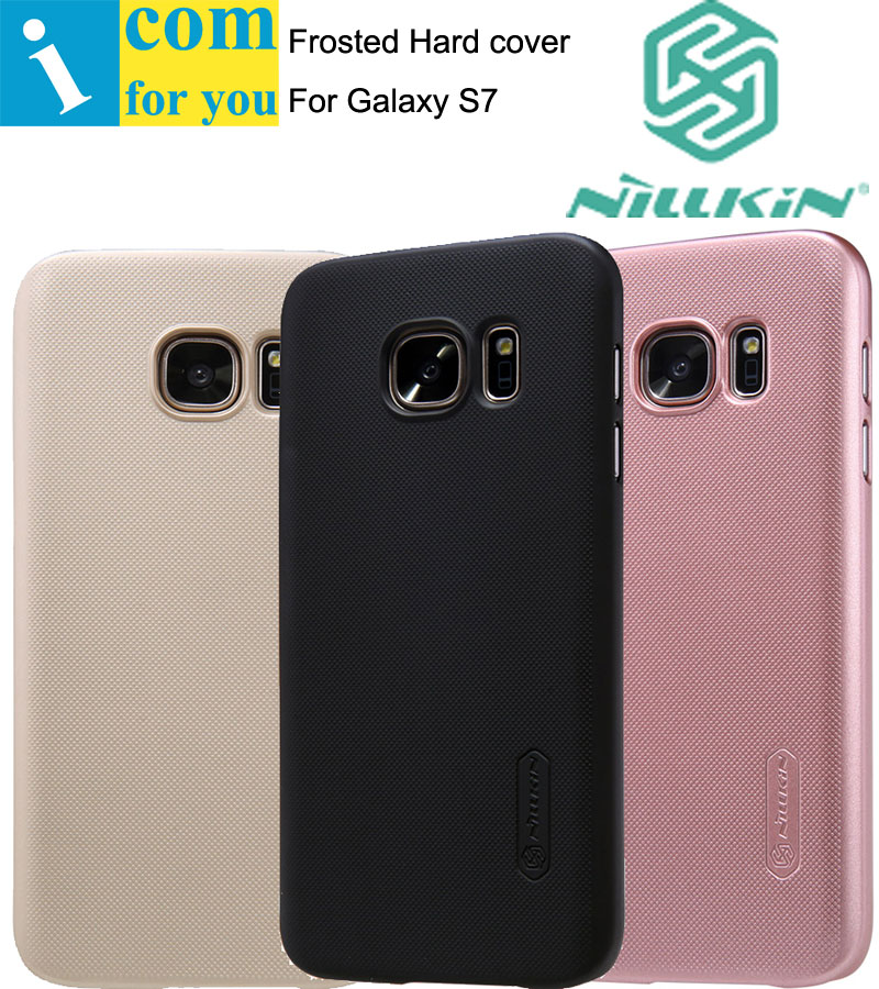 Nillkin Super Frosted Shield Cover Case For Samsung Galaxy S8 S7 edge S6 Plus with 1pcs