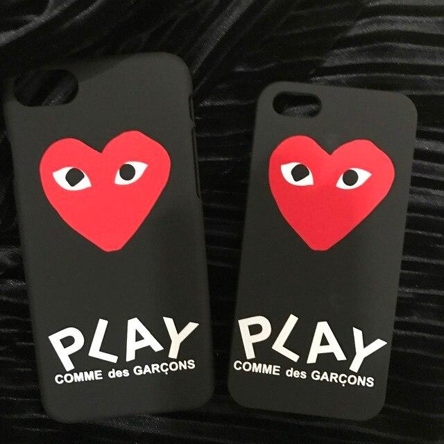 coque iphone 6 comme des garçons coeur