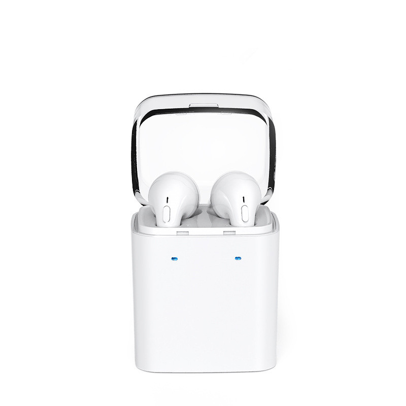 Wireless Earphones Fun 7 Wireless Headphones TWS High Quality Twins Headset Dual Stereo Earbuds with Box Package for Phone redmi high quality wireless stereo headphones bluetooth headset earphone earbuds earphones with microphone for pc mobile phone music