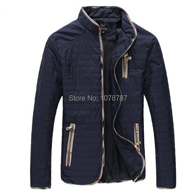 Plus Size M-4XL 5XL Men's Spring Autumn Jacket New Thin Man Casual Coat Fashion Jaket Men Oversized Clothing Black Blue