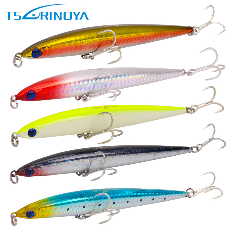 Trulinoya 5pcs/lot DW23 125mm/28g Fishing Lure Sinking Pencil Artificial Bait Carp Hard Fishing Lures стоимость
