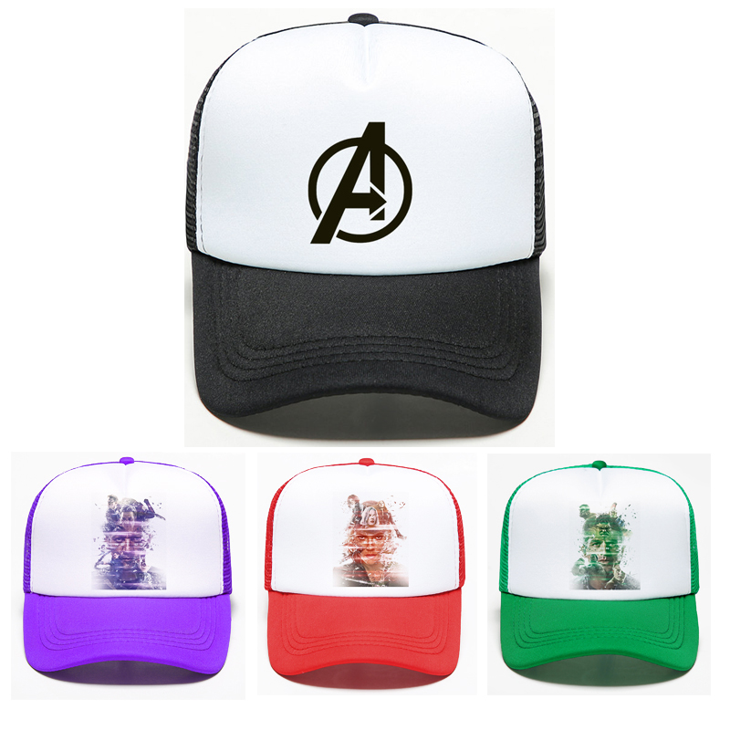 11 Styles Movie Avengers Infinity War Super Hero   Baseball     Cap   High Quality Adjustable Iron Tony Man   Cap   Captain Endgame Hat