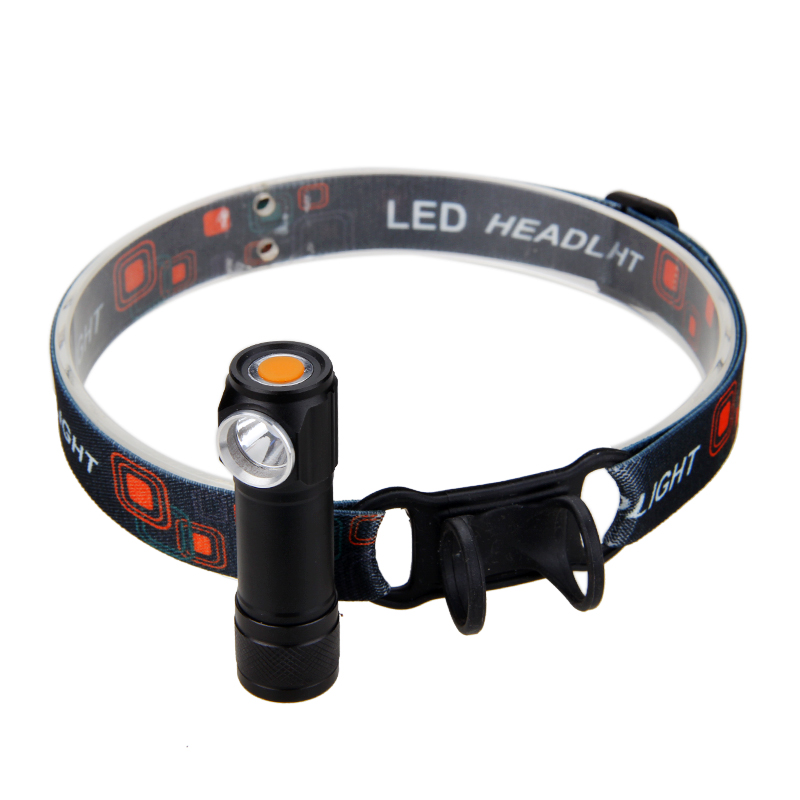 Mini USB Rechargeable Flashlight LED Headlamp Head Torch Headlight with Battery for Outdoor Camping r3 2led super bright mini headlamp headlight flashlight torch lamp 4 models