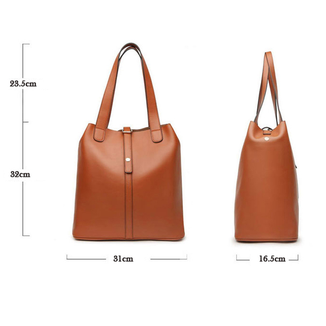 2015 Women's New Arrive Fashion Vintage Genuine Leather Bag Solid Handbag/Women Messenger Bag/ Large Motorcycle Shoulder Bag