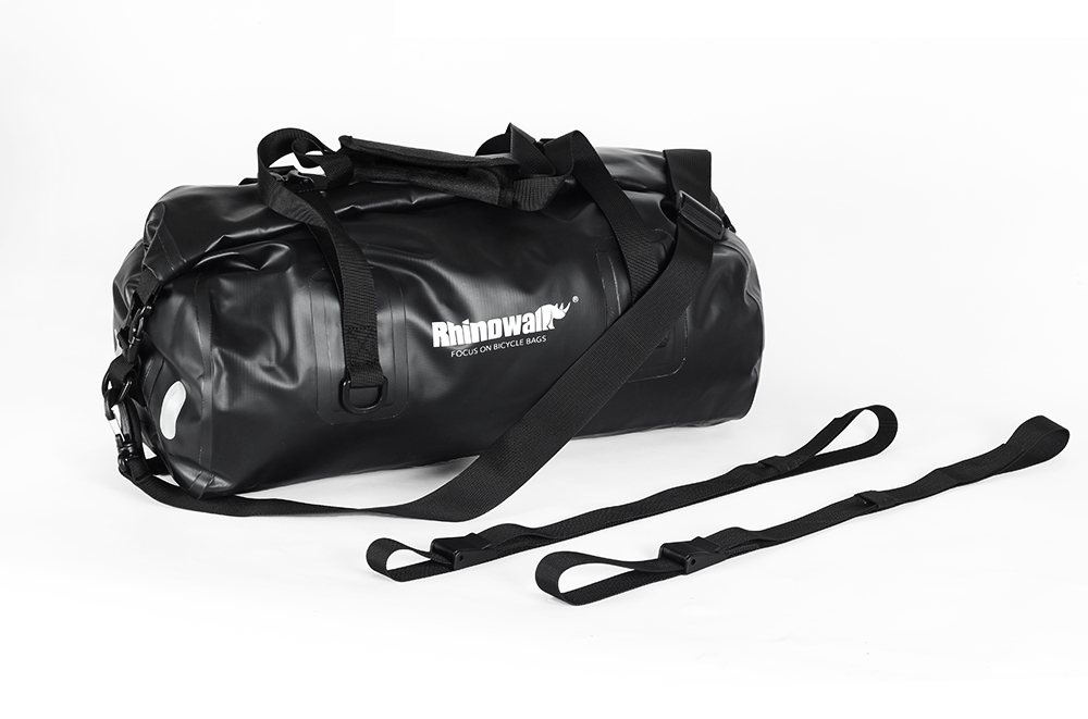 Rhinowalk Bicycle Luggage Bags 20L Full Waterproof for Road Bike Rear Rack Trunk Cycling Saddle Storage Pannier Multi Travel Bag (20)