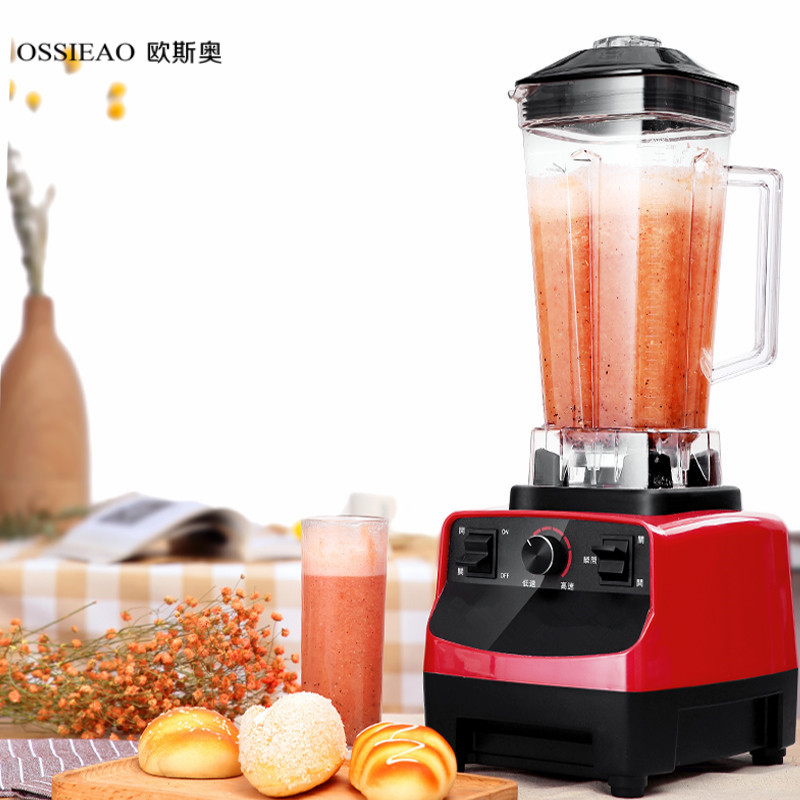 Fruit Blender 22Heavy Duty Commercial Grade Blender Mixer Juicer High Power Food Processor Ice Smoothie Bar Fruit Blender 2l wholesale fruit mixer manual smoothie blender juicer meat grinder with digital temperature control