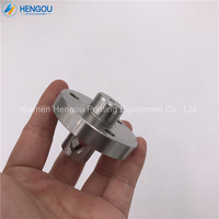 1 piece free shipping offset CD74 SM74 PM74 MO water roller head  Stainless steel shaft head 63.030.505 offset SM74|Printer Parts| |  -