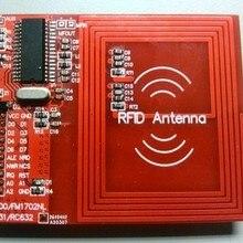 MFRC531, RFID, RC531, радиочастотные модули, кардридер, макетная плата, обучающая плата