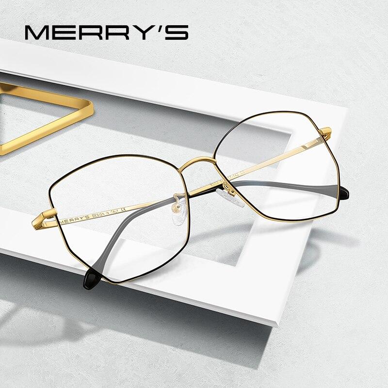 MERRYS DESIGN Women Fashion Trending Glasses Frame Ladies Myopia Prescription Optical Eyeglasses S2013