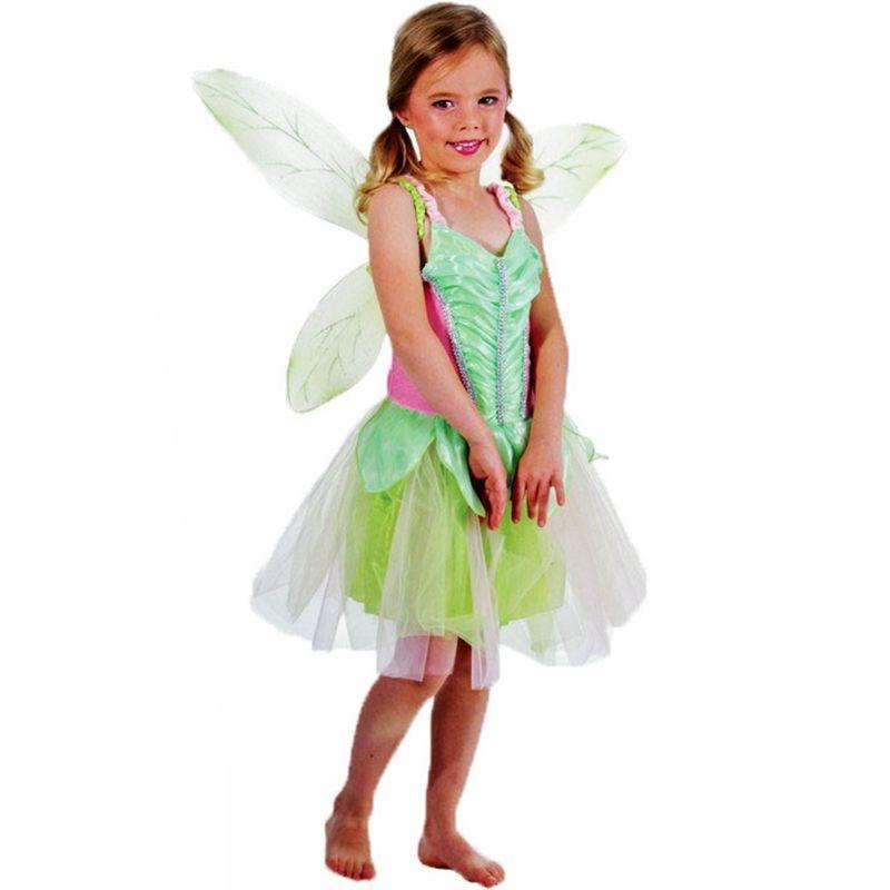 Elf fairy Halloween costume for kids carnival costume for girl children cosplay costume fancy dress party dresses Princess dress