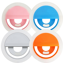 S10 Mobile phone Selfie Flash Ring Light lens beauty Fill Light Lamp Portable Clip for Photo Camera For Cell Phone Smartphone